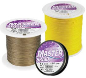 Cortland Master Braid - 1,200 Yard Spool