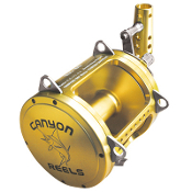 Canyon Reels EX-80 Two Speed Trolling Reel