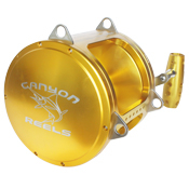 Canyon Reels EX-130 Two Speed Trolling Reel