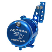 Canyon Reels HS-16 Blue Water Jigging Reel