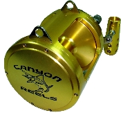 Canyon Reels EX-30 Two Speed Trolling Reel