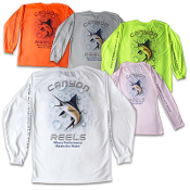 Canyon Reels Long Sleeve Microfiber Shirt